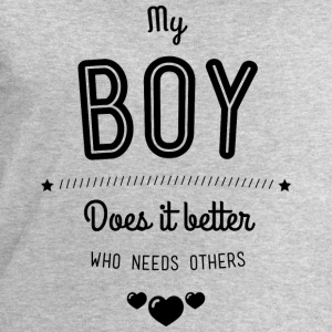 My boy does it better Tops - Männer Sweatshirt von Stanley & Stella