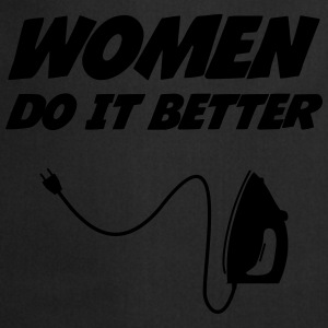 Women do it better !  [Cleaning] Koszulki - Fartuch kuchenny