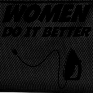 Women do it better !  [Cleaning] T-skjorter - Ryggsekk for barn