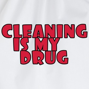 Cleaning is my drug T-shirts - Sportstaske