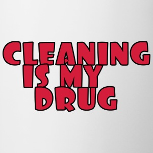 Cleaning is my drug T-shirts - Mok
