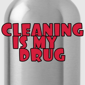Cleaning is my drug Koszulki - Bidon