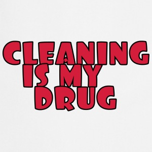 Cleaning is my drug Koszulki - Fartuch kuchenny