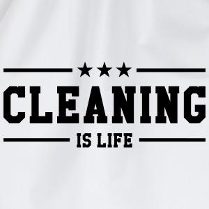 Cleaning is life ! T-skjorter - Gymbag