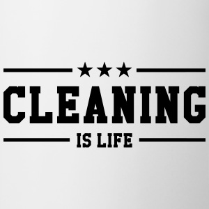 Cleaning is life ! T-shirts - Mok