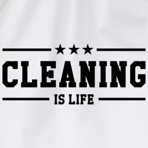 Cleaning is life ! T-shirts - Sportstaske