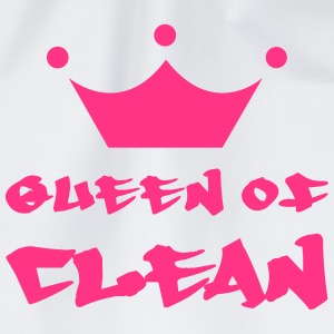 Queen of Clean T-skjorter - Gymbag