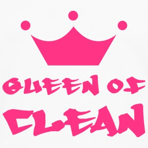 Queen of Clean T-shirts - Mannen Premium shirt met lange mouwen