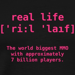 real life MMO Tops - Männer Premium T-Shirt