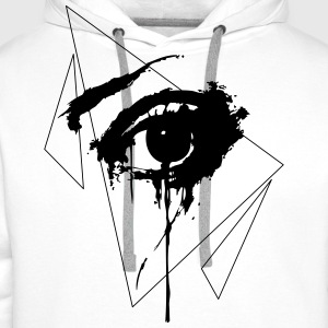 Crying Eye Tank Tops - Männer Premium Hoodie