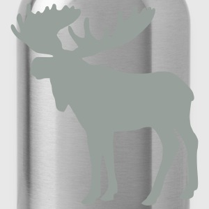 Moose T-Shirts - Water Bottle