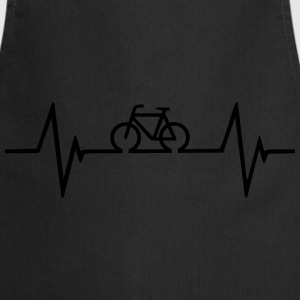 Bicycle Heartbeat T-Shirts - Cooking Apron