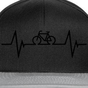 Bicycle Heartbeat T-Shirts - Snapback Cap