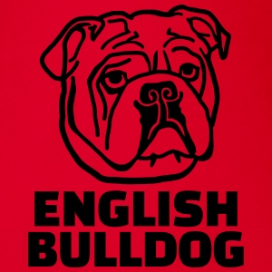 English bulldog T-Shirts - Baby Bio-Kurzarm-Body