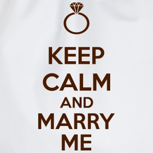 Keep Calm And Marry Me T-shirts - Sportstaske