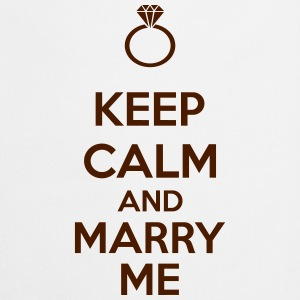 Keep Calm And Marry Me T-shirts - Keukenschort