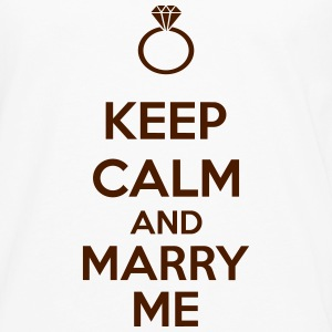 Keep Calm And Marry Me T-shirts - Mannen Premium shirt met lange mouwen