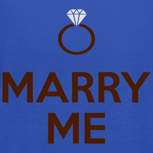 Marry Me T-Shirts - Women's Tank Top by Bella