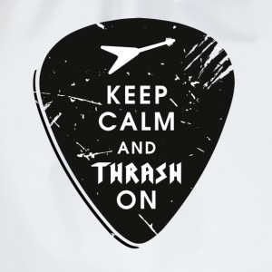 Keep calm and thrash on T-Shirts - Turnbeutel