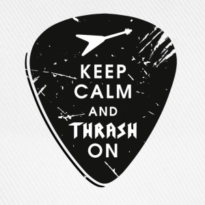 Keep calm and thrash on T-Shirts - Baseballkappe