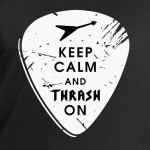 Keep calm and thrash on T-Shirts - Männer Sweatshirt von Stanley & Stella
