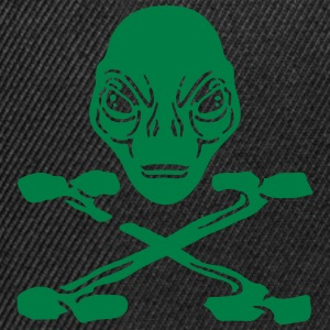 Pirate Alien Felpe - Snapback Cap