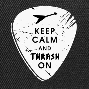 Keep calm and thrash on Tassen & Zubehör - Snapback Cap