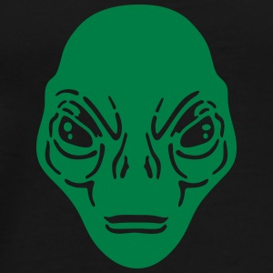 Alien woman sweatshirt bella - Men's Premium T-Shirt