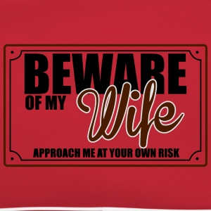 BEWARE OF MY WIFE T-Shirts - Retro Bag