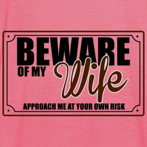 BEWARE OF MY WIFE Sweat-shirts - Débardeur Femme marque Bella