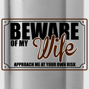 BEWARE OF MY WIFE Sweat-shirts - Gourde