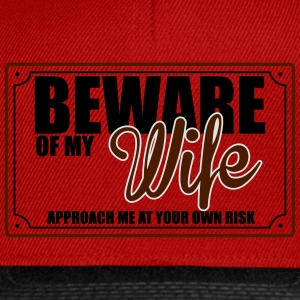BEWARE OF MY WIFE Sweat-shirts - Casquette snapback