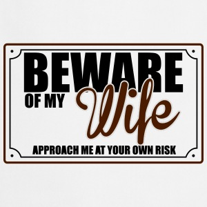 BEWARE OF MY WIFE Underwear - Cooking Apron