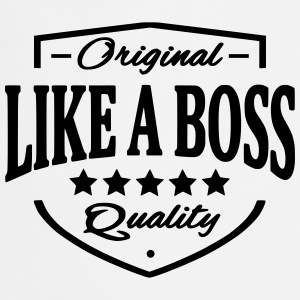 Like A Boss Tee shirts - Tablier de cuisine