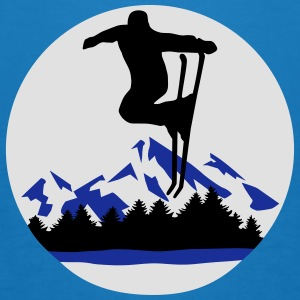 ski, skiing - Men's Organic T-shirt