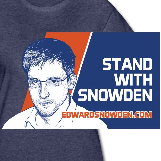 Stand with Snowden Women's T-Shirt