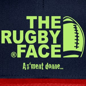 the rugby face - Casquette snapback