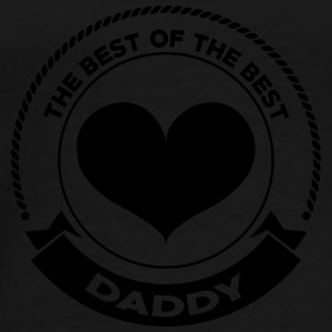 Daddy The Best Mokken & toebehoor - Mannen Premium T-shirt