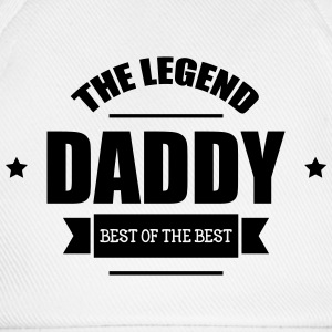 Daddy The Legend T-shirts - Baseballkasket