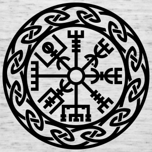 Vegvísir, Iceland, Magic Rune, Protection compass Camisetas - Camiseta de tirantes mujer, de Bella