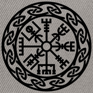 Vegvísir, Iceland, Magic Rune, Protection compass Tee shirts - Casquette snapback