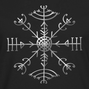 Veldismagn - Fortune & Protection Symbol, Iceland Tee shirts - T-shirt manches longues Premium Homme