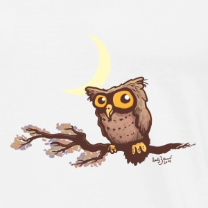 Cute night owl Hoodies & Sweatshirts - Men's Premium T-Shirt