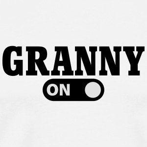 Granny on Sweats - T-shirt Premium Homme
