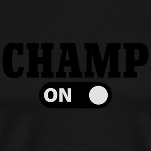 Champ on Langarmshirts - Männer Premium T-Shirt
