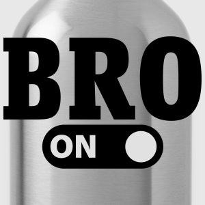 Bro on Shirts - Water Bottle