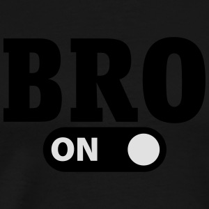 Bro on Singlets - Premium T-skjorte for menn