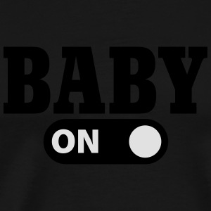 Baby on Sweaters - Mannen Premium T-shirt
