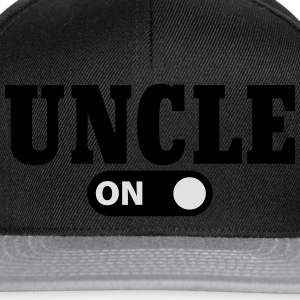 Uncle on T-Shirts - Snapback Cap