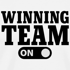 Winning Team on Langarmshirts - Männer Premium T-Shirt